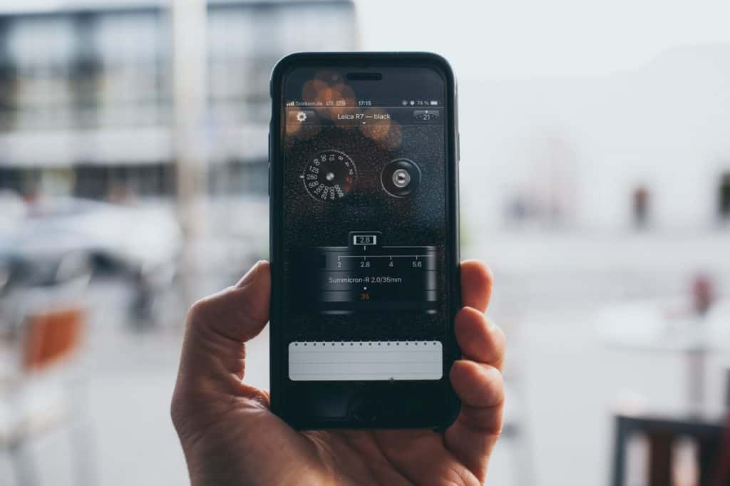 Smartphone Camera is not focussing