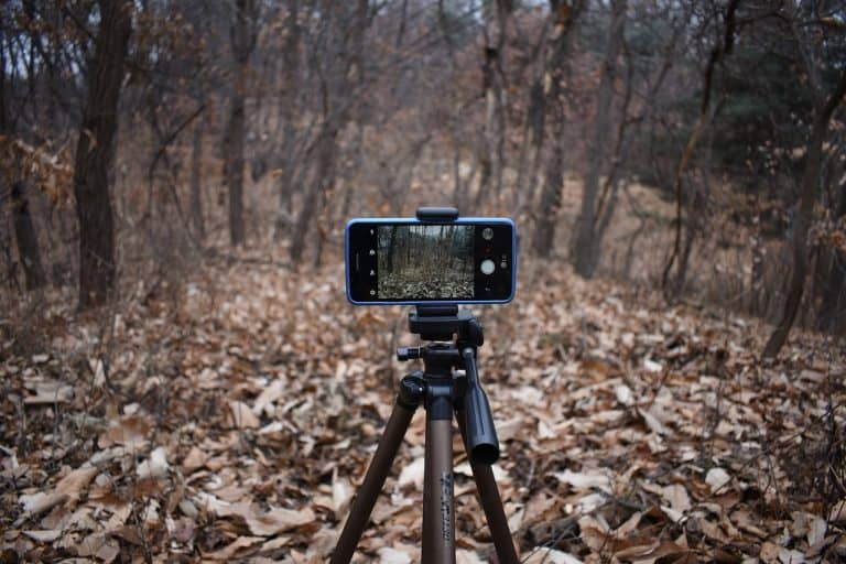 Can I put my Smartphone on a Tripod?