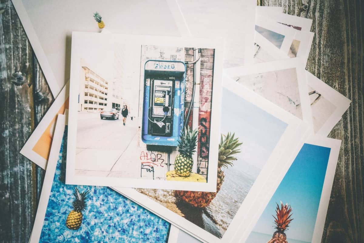 How do I print photos from my phone?