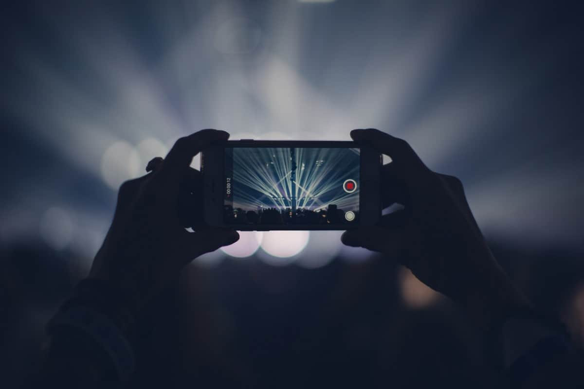 Smartphone Concert Photography