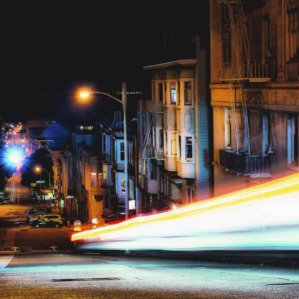 Take Light trail images with smartphone