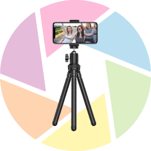 Erligpowt Tripod for Smartphones Logo Background
