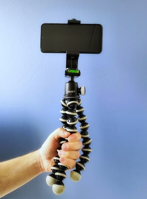 how to hold gorillapod