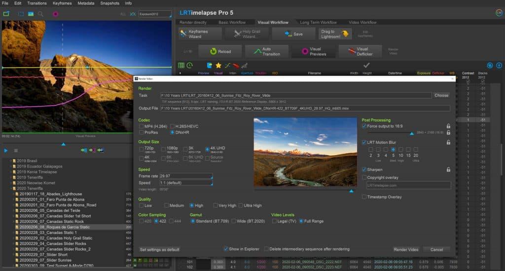LRTimelapse Software
