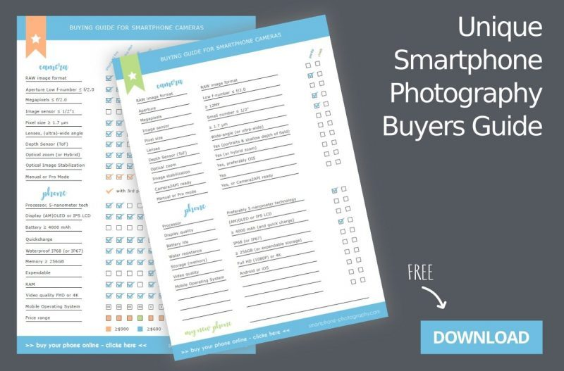 Unique Smartphone Photographer Buyers Guide